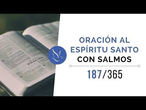 Oración al Espíritu Santo con salmos