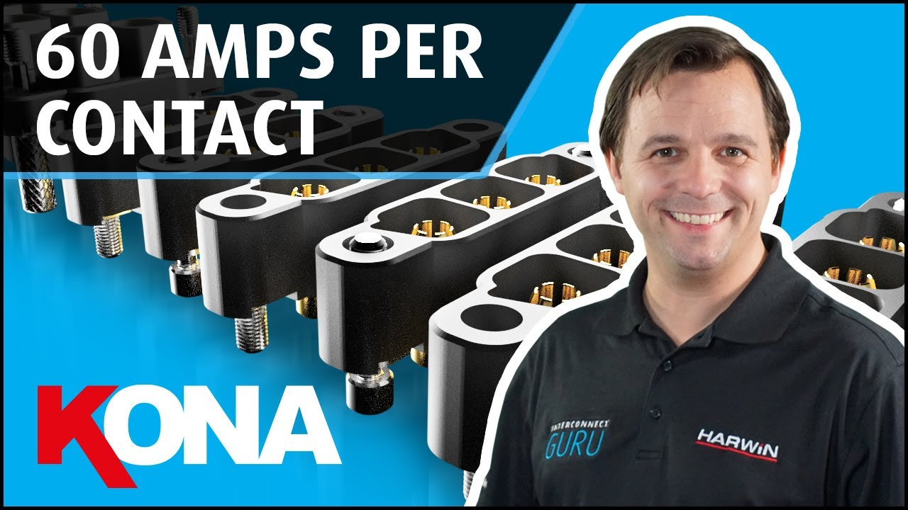Youtube video for Interconnect Guru: Kona 60A Power Connectors