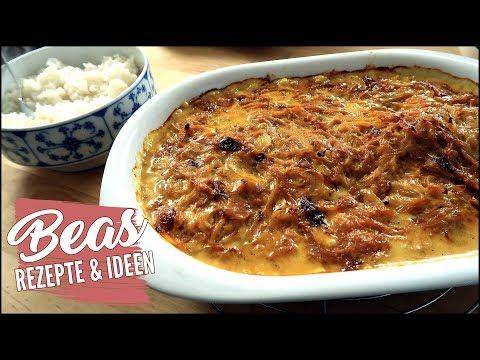 Zwiebel-Sahne Hähnchen Rezept | Hähnchenfilets aus dem Ofen selber machen
