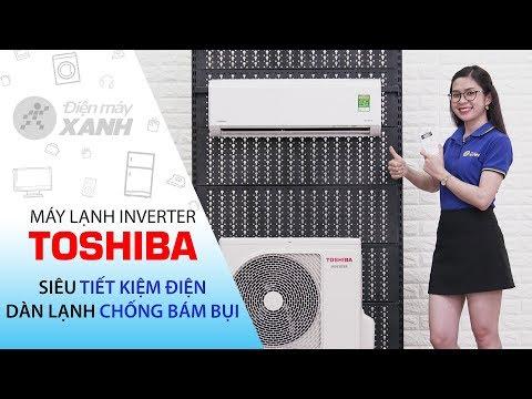 Máy lạnh Toshiba Inverter 1 HP: Đẹp! Tiết kiệm điện! (RAS-H10D1KCVG-V)   Điện máy XANH