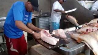 Ver-o-peso _ Filetando Pescada Amarela