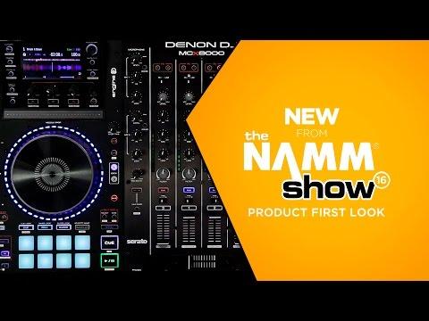 NAMM 2016 - Denon MCX8000 DJ Controller