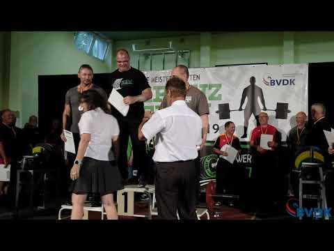 Deutsche Meisterschaft im Kreuzheben 2019 - Gruppe 2