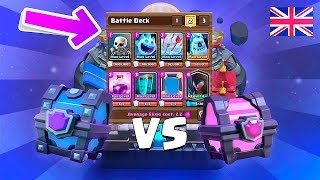 SUPER MAGICAL CHESTS VS MAGICAL CHESTS AND OP DECK!!! - Clash Royale