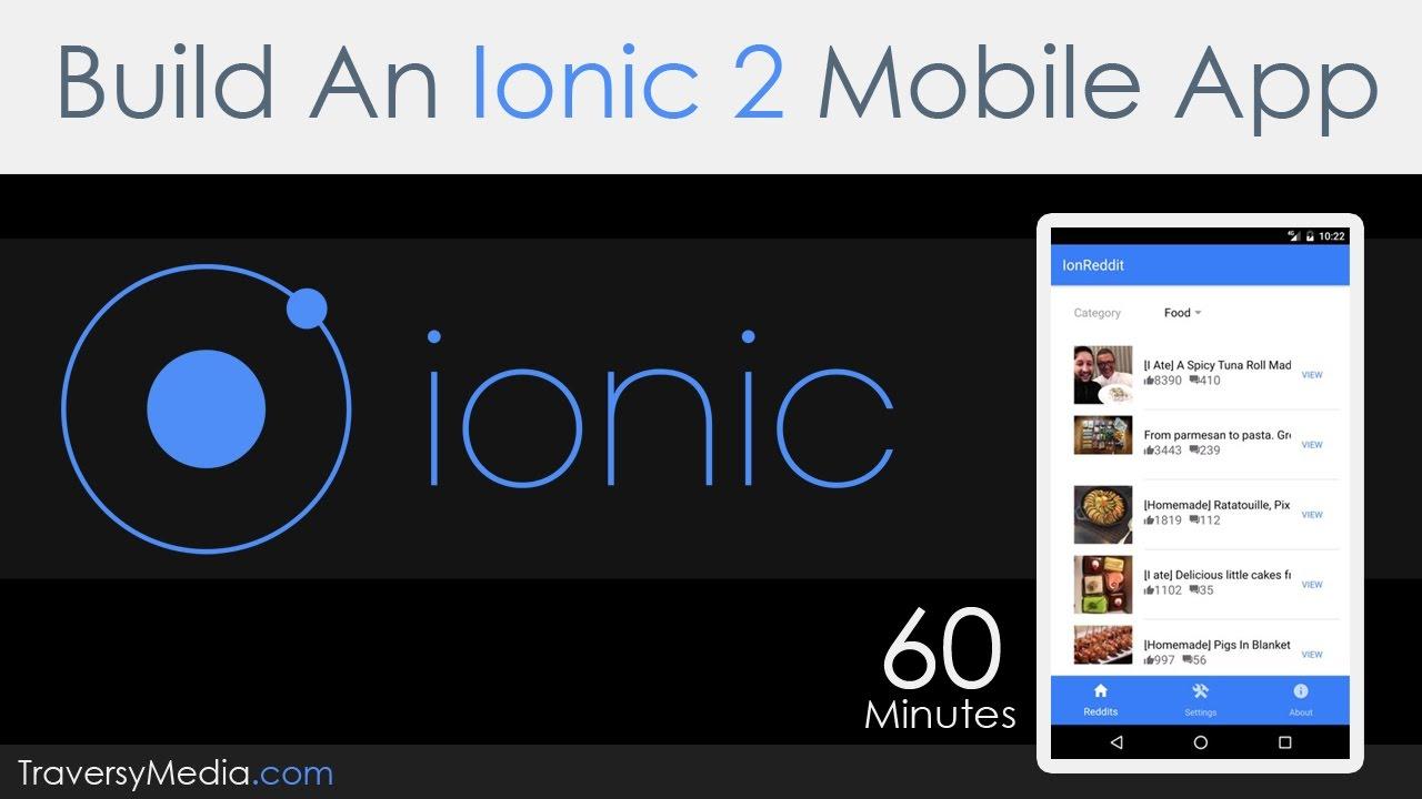 Ionic (Mobile App Framework) - portablecontacts net