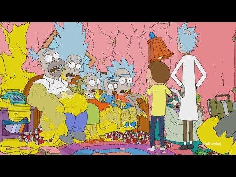El CrossOver De Rick y Morty Y Los Simpsons (Rick Y Morty Destruyen a Los Simpsons)