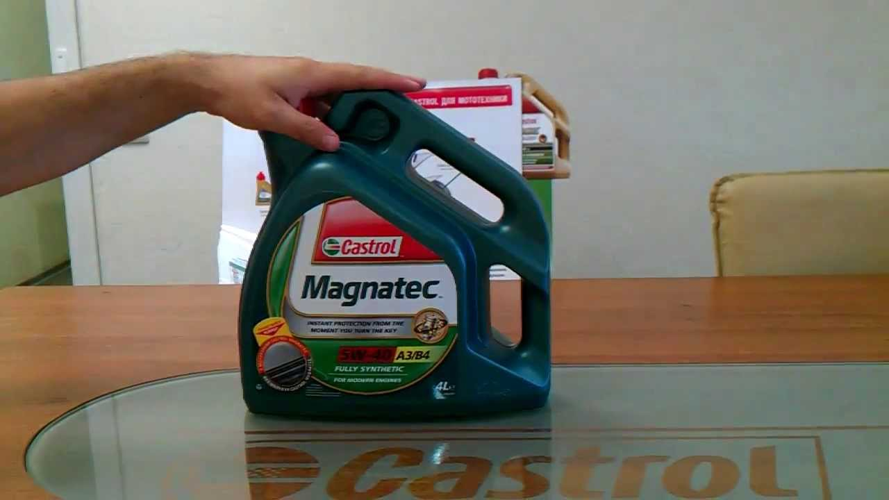 Castrol Magnatec 5W40 vs Castrol EDGE 5W40 test oil - YouTube