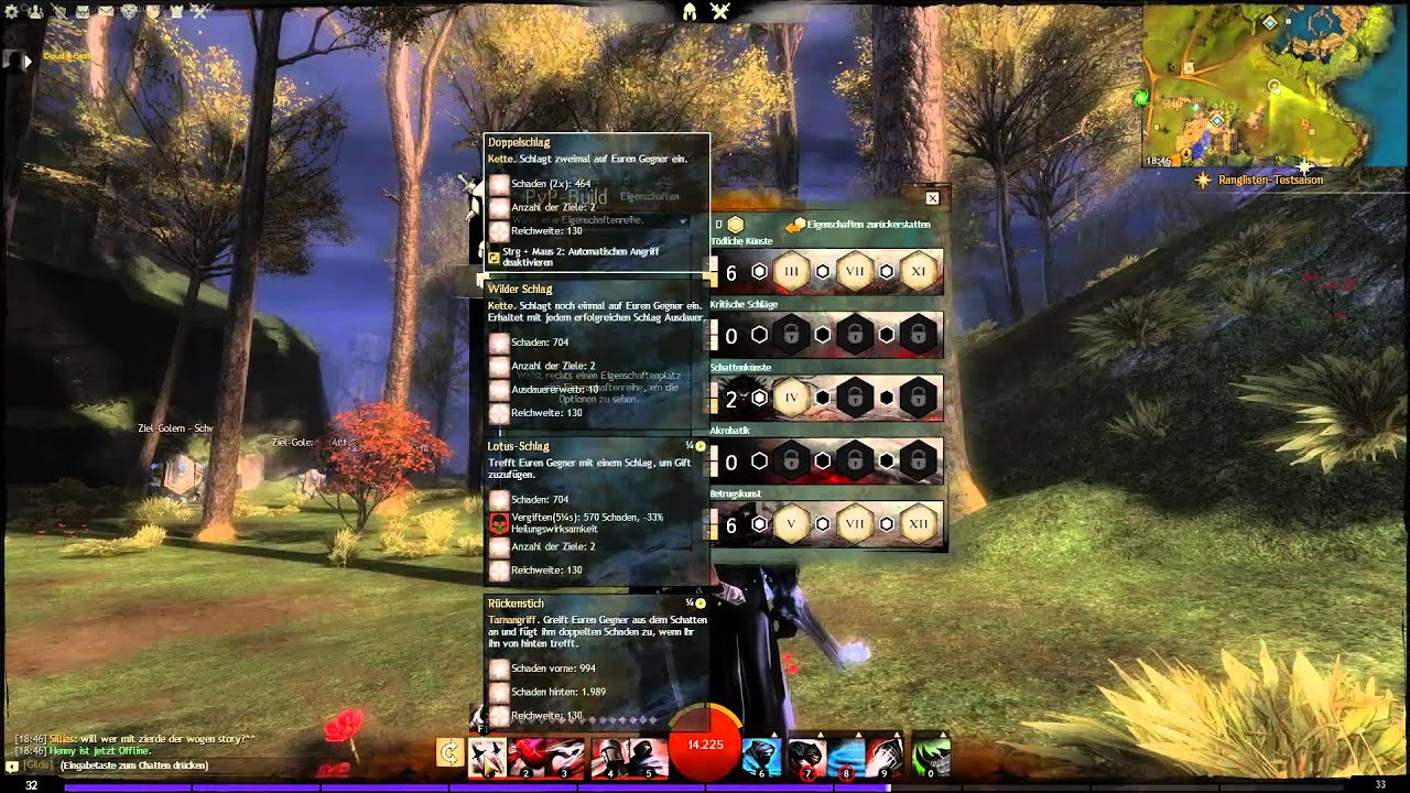 Guild Wars  Dieb Build