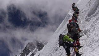On va marcher sur l'Everest versant Tibétain Chine François Damilano film alpinisme montagne
