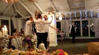 неудержимые танцы от ведущего и неповторимые шутки   (свадьба Любаши и Сережи)