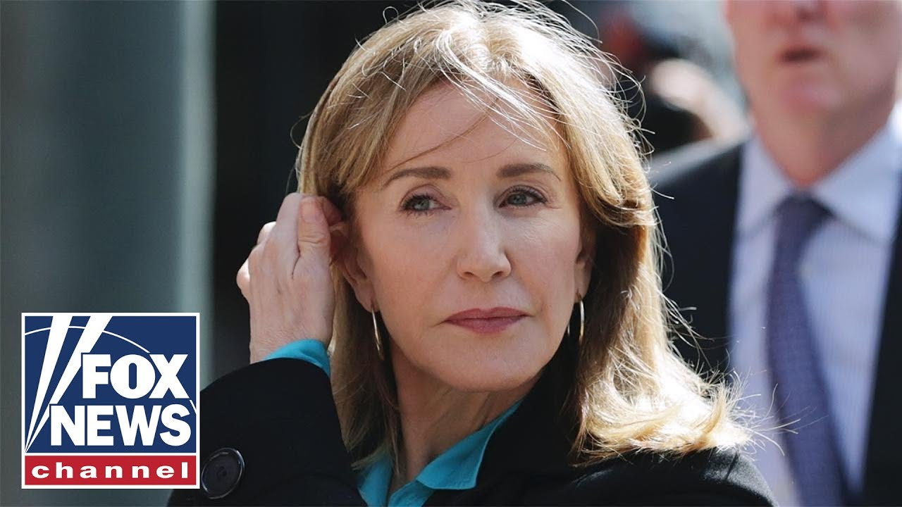 Felicity Huffman released from prison today after college admissions ...