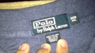 FOR SALE Ralph Lauren Polo 3xl blue