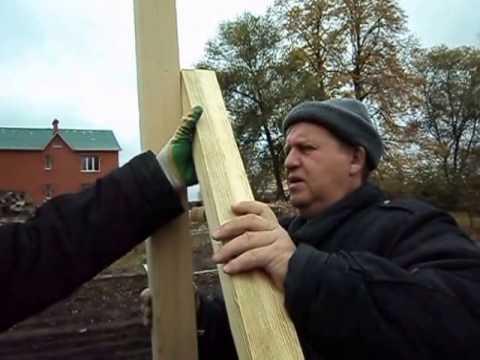 видео: Каркас теплицы своими руками