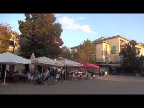 Bulgaria Walking in Ruse ブルガリア:ルセの街を歩く