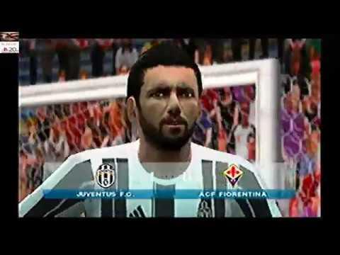 PES 2017 | Serie A | TIM CUP | Juventus vs fiorentina