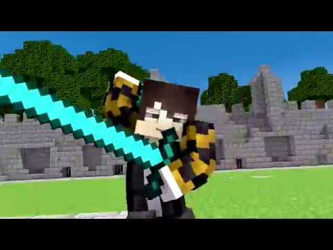 Minecraft Song compilation ♫Hacker 1 to 7♫ songs and animation thumbnail