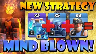 *NEW STRATEGY* TH10 Pekka Miner Electrone! This Will BLOW YOUR MIND! Best TH10 Attack Strategies