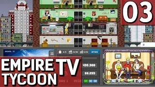 Empire TV Tycoon #3 Langsam verstehe ich das Der TV Sender Manager