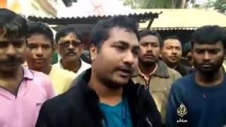 بالفيديو.. فهد يثير الرعب وسط سكان قرية في الهند