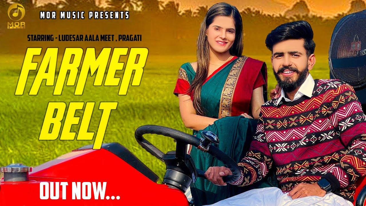 Farmer Belt (Official Video) Pragati, Ludesar Aala Meet, Dj Sky | New Haryanvi Song 2021 | Mor Music
