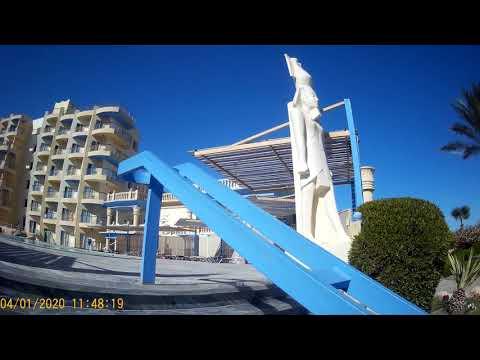 SPHINX AQUA PARK BEACH RESORT 5*. King Tut 4*. отель, территория, часть 1
