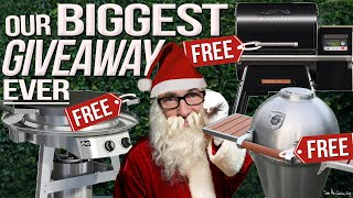 OUR BIGGEST GIVEAWAY EVER... | SAM THE COOKING GUY 4K