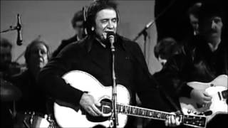 Johnny Cash- Get Rhythm (Official-Unofficial) Music Video