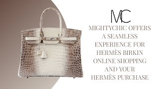 MIGHTYCHIC • Hermes Birkin 35 Bag Blanc Himalaya Exquisite Skin Limited  Edition ... 06acf110e13b6