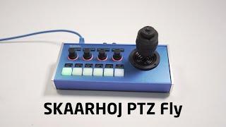 Nice Compact PTZ Controller | SKAARHOJ PTZ Fly