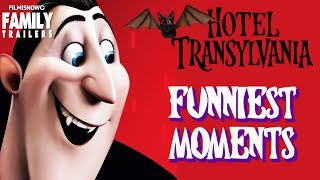 HOTEL TRANSYLVANIA 3 | Best Funny Moments from 1 & 2 of the family animated comedy movie