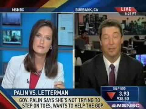 Ziegler, Brewer Tangle Over Letterman Attack On Palin