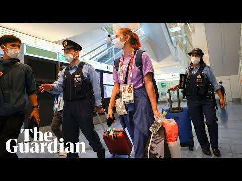 Belarus' Krystsina Tsimanouskaya safe in Tokyo after asking IOC for help