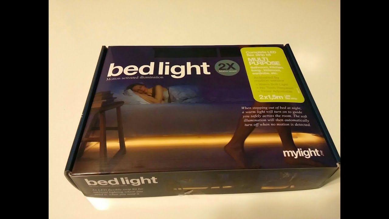 BedLight Deluxe Motion Sensor Activated Under Bed Light