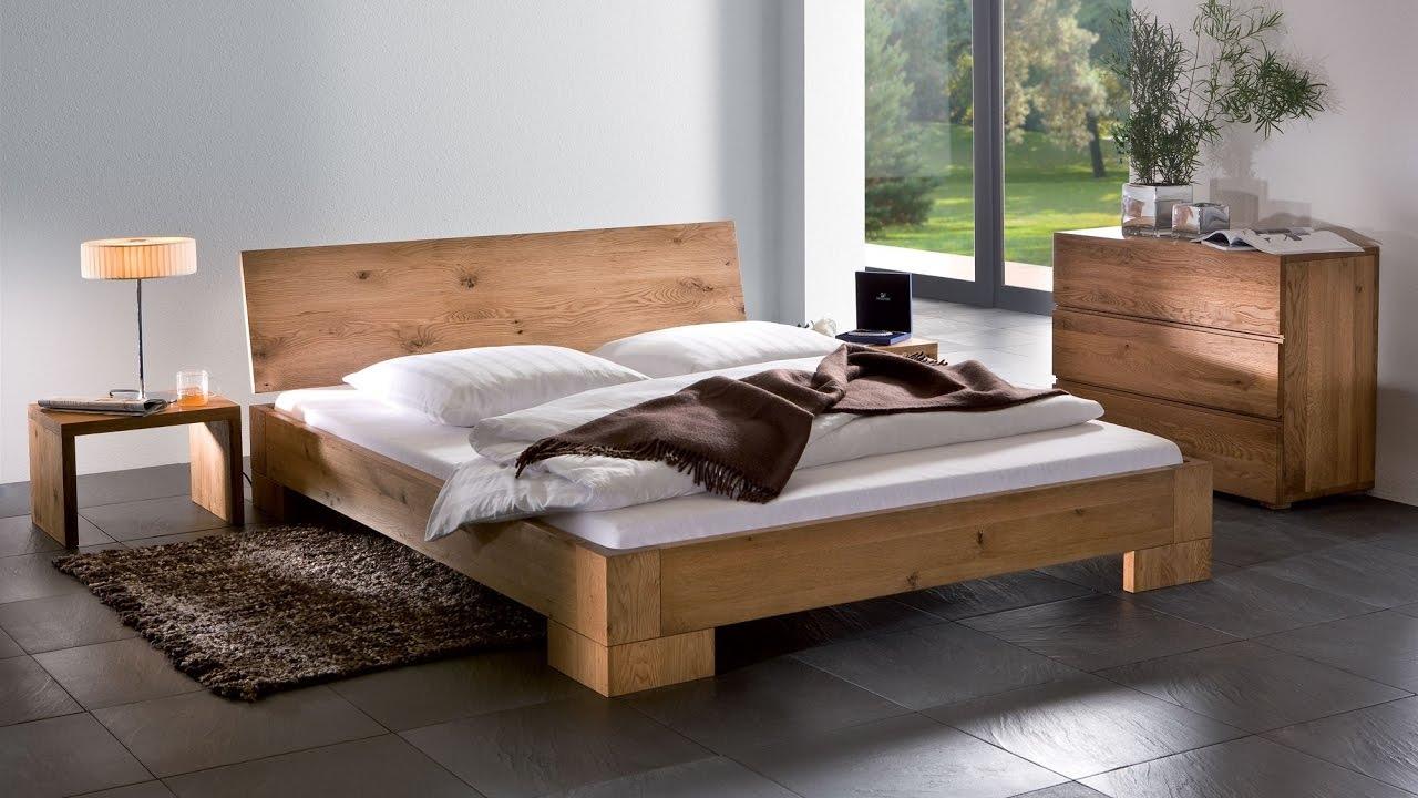 Oak Wooden Bed Frames Design Uk