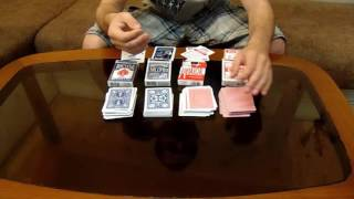 видео Покрытия игральных карт