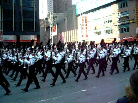 James Bowie High School Band in Macy's Thanksgiving Parade