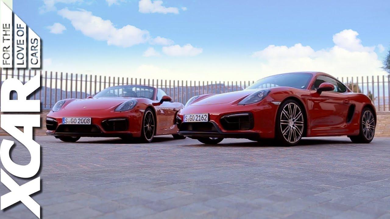 Porsche 718 Cayman S >> Porsche Cayman GTS vs. Porsche Boxster GTS - XCAR - YouTube