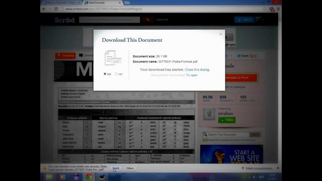 how to download scribd free