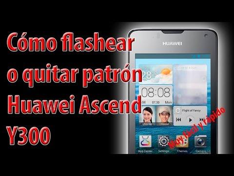 Flashear Huawei Ascend Y300