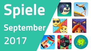 Top Spiele für Android & iOS - September 2017