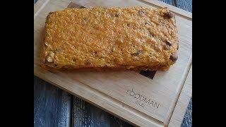Морковный кекс с сухофруктами: рецепт от Foodman.club