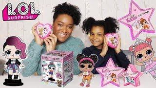 Poupées LOL surprises étoiles et coeurs grande boite message secret LOL Stationery Fashion card