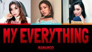MAMAMOO - MY EVERYTHING (내눈속엔너) (Spy OST) [Colour Coded Lyrics Han/Rom/Eng]