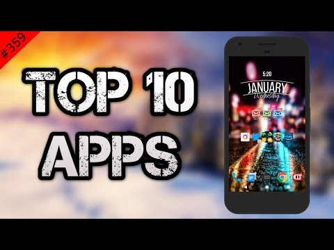 #359 Top 10 Best APPS - January 2017