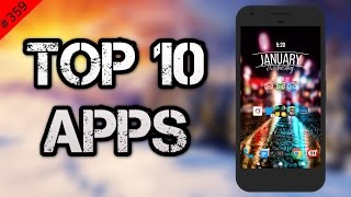 #359 Top 10 Best New APPS - January 2017