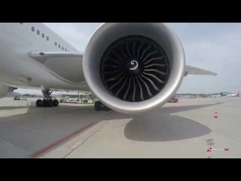 SWISS Boeing 777-300ER short Walk around 4K