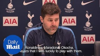 Pochettino: 'Dembele is as good as Ronaldinho and Maradona'
