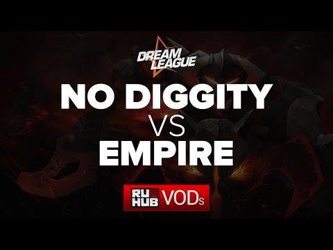 No Diggity vs Team Empire, DreamLeague Season 5, Game 2