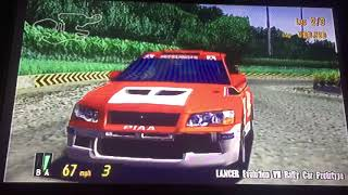 Gran Turismo 3 A-Spec Corolla Rally Car VS Lancer Evolution Vii Rally Car Prototype 🏁