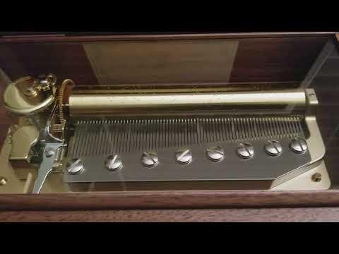 Pachelbel Canon in D - 72 note Sankyo Orpheus Music Box